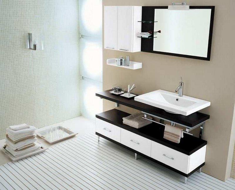 Мебель в ванную комнату - советы и рекомендации по выбору 7