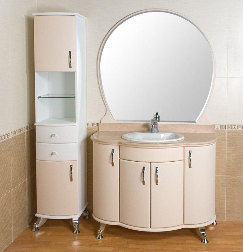 Мебель в ванную комнату - советы и рекомендации по выбору 8