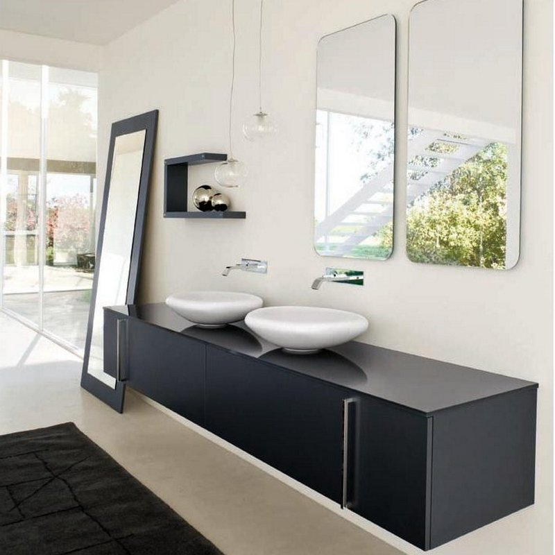 Мебель в ванную комнату - советы и рекомендации по выбору 17