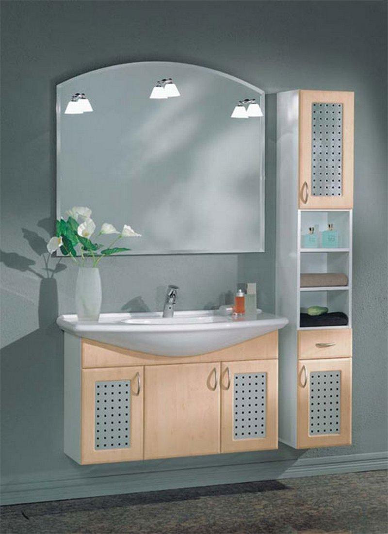 Мебель в ванную комнату - советы и рекомендации по выбору 18