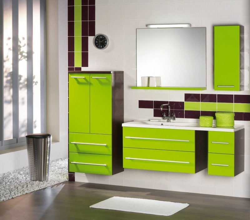 Мебель в ванную комнату - советы и рекомендации по выбору 19