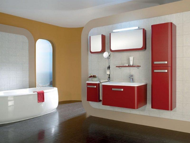 Мебель в ванную комнату - советы и рекомендации по выбору 20