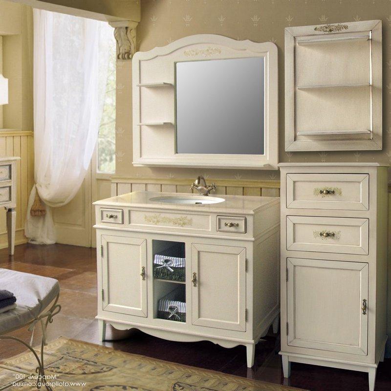 Мебель в ванную комнату - советы и рекомендации по выбору 21