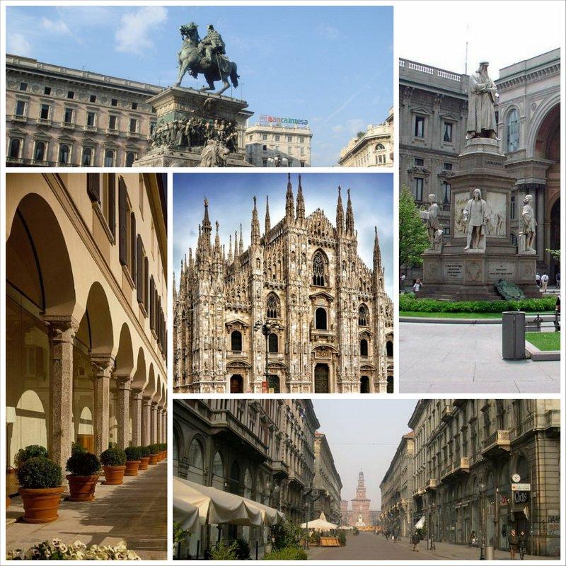 Милан - прекрасный город с уникальными достопримечательностями