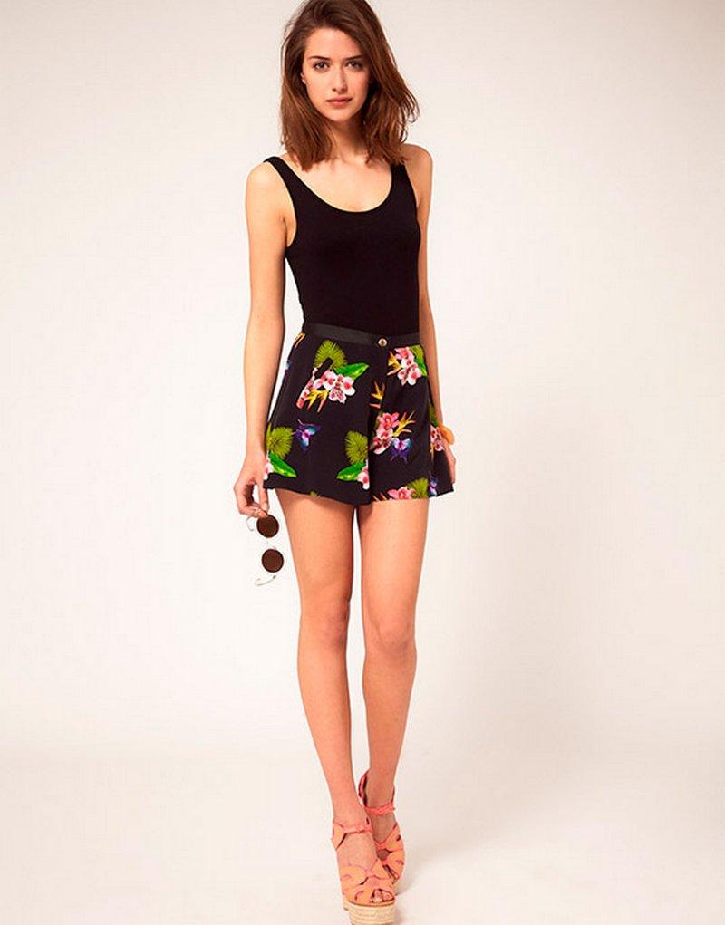 Модные шорты сезона весна-лето 2014 года 5