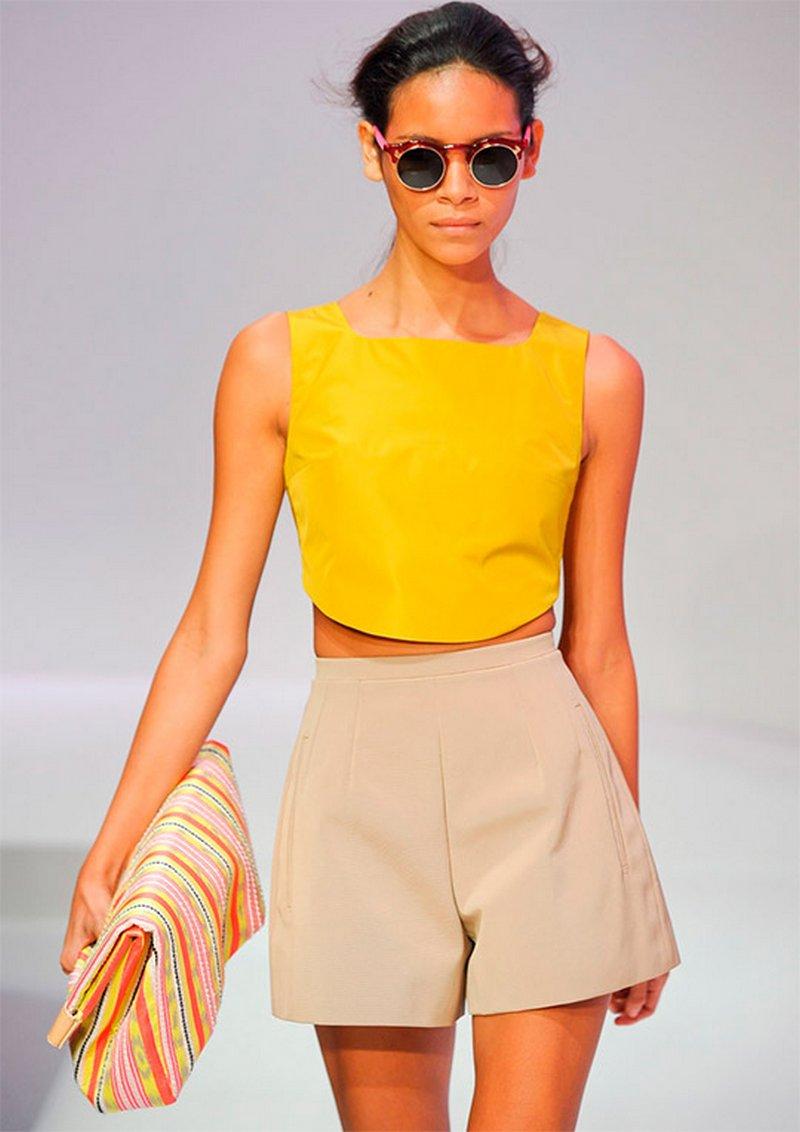 Модные шорты сезона весна-лето 2014 года 8