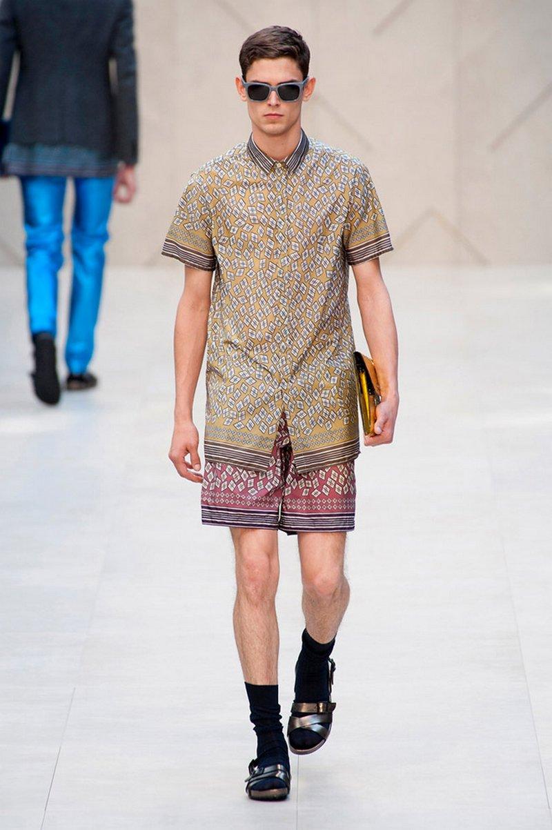 Модные шорты сезона весна-лето 2014 года 19