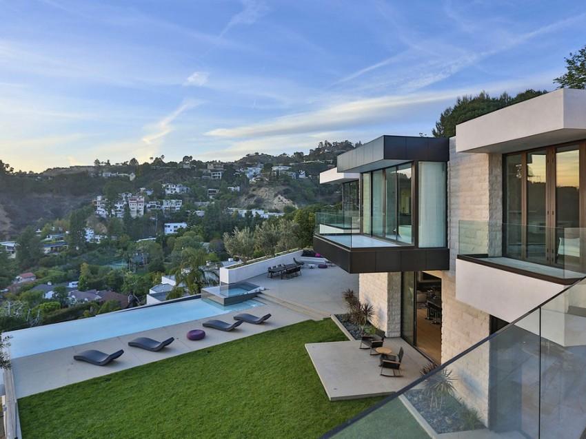 Роскошный особняк в Голливуде, штат Калифорния-4