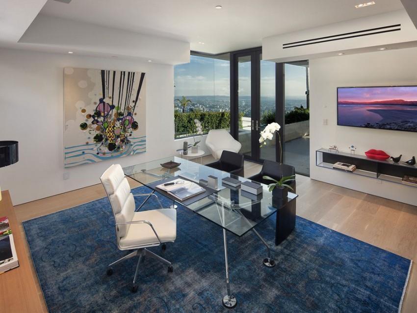 Роскошный особняк в Голливуде, штат Калифорния-12-850x637
