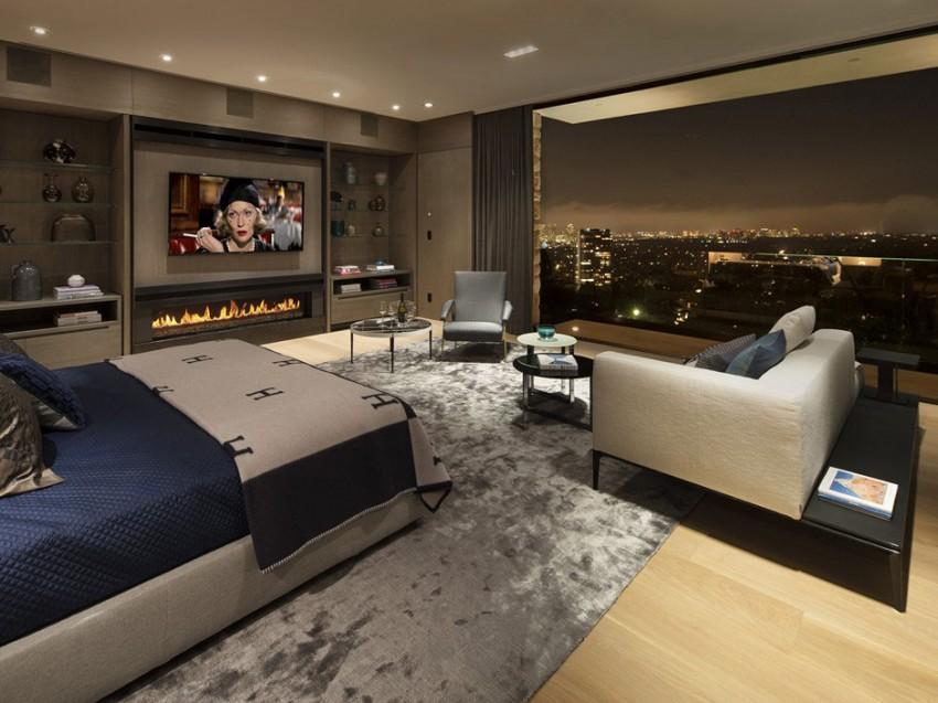 Роскошный особняк в Голливуде, штат Калифорния-16-850x637