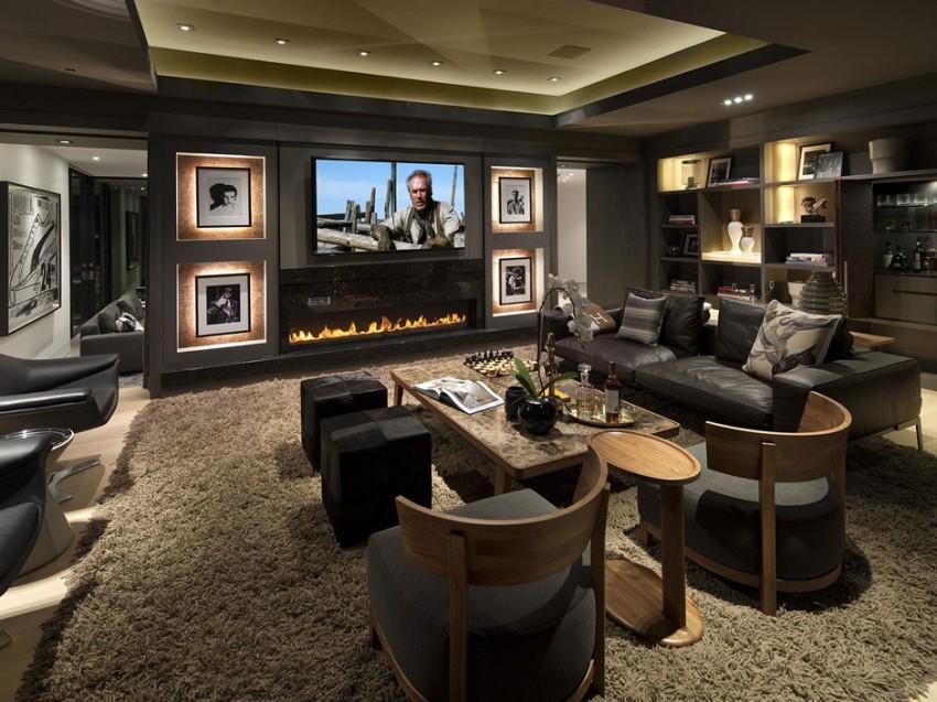 Роскошный особняк в Голливуде, штат Калифорния-17-850x637