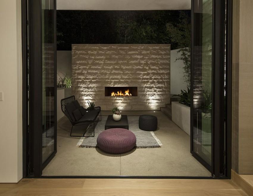 Роскошный особняк в Голливуде, штат Калифорния-20-850x659