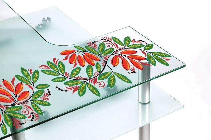УФ печать на оргстекле и керамической плитке для интерьера 2