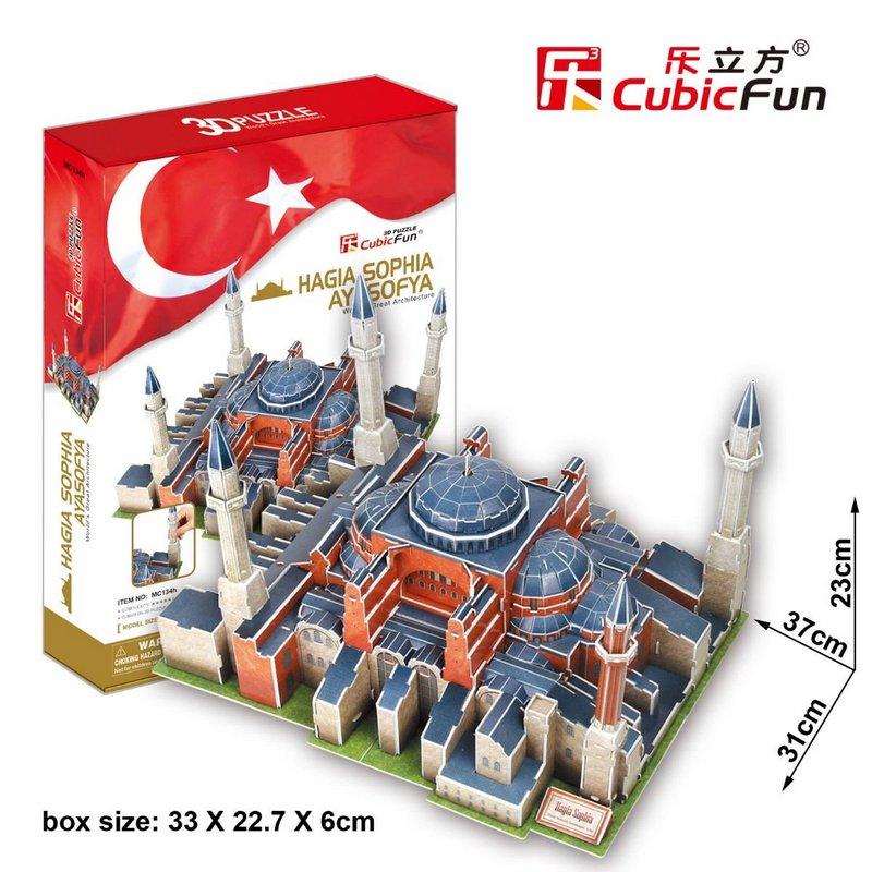 3D пазлы от Cubic Fun для развития ребенка 10