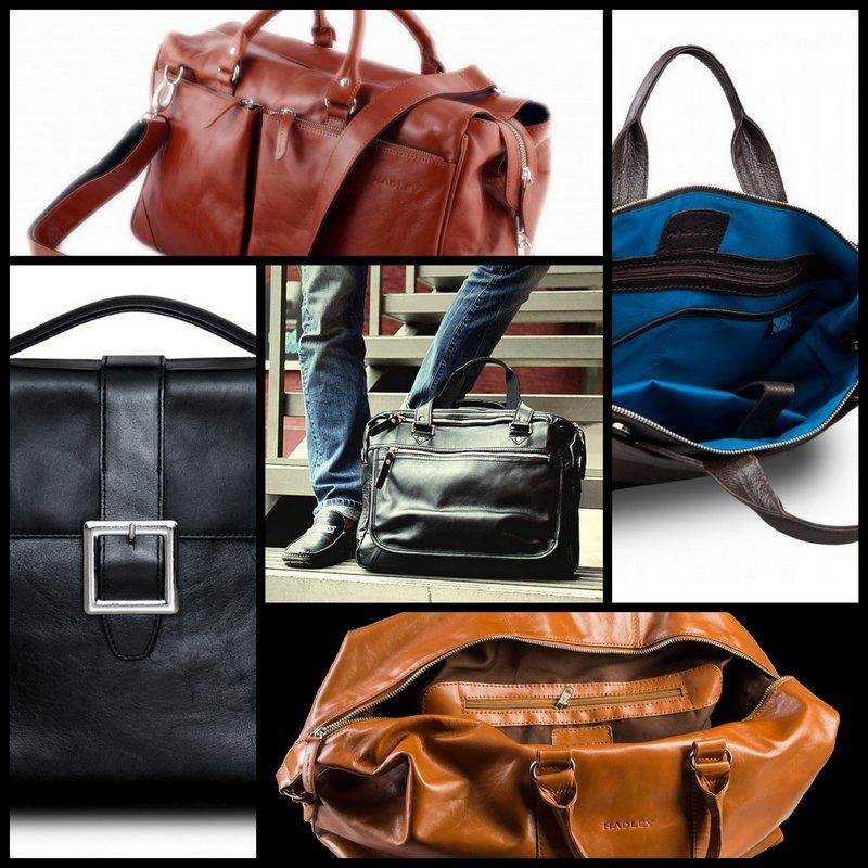 Мужские сумки ручной работы от Hadley