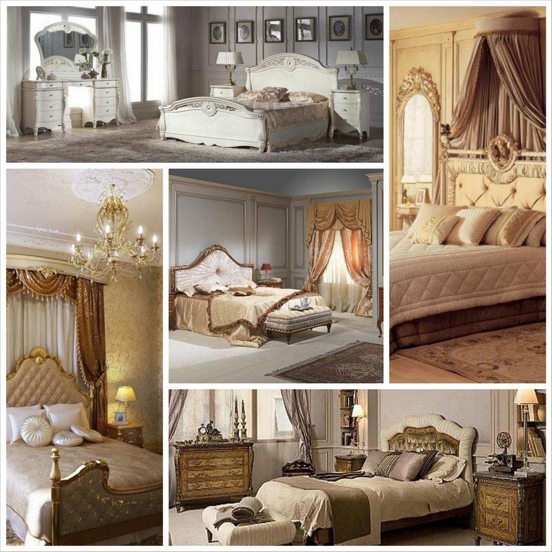 Спальня в классическом стиле - для тех кто ценит изящество традиций