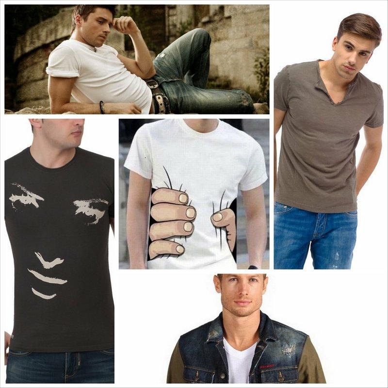 Мужские футболки - самая популярная часть гардероба всех мужчин