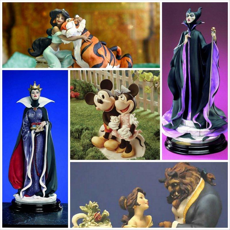 Коллекционные фигурки героев Уолта Диснея от Джузеппе Армани