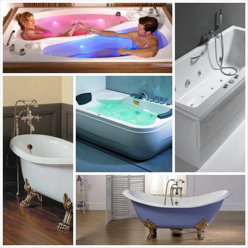 Ванна - советы по выбору и лассификация