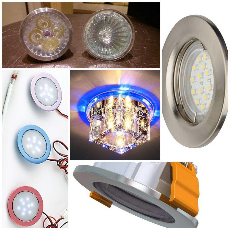Встраиваемые светодиодные точечные светильники – лучший выбор современности