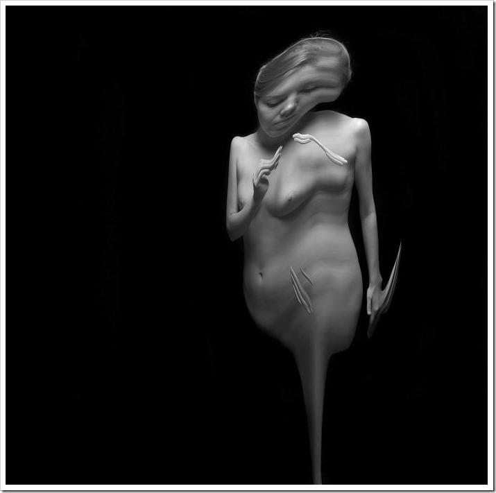 """""""Temporal form"""" – абстрактное ню от техасца Ansen Seale"""