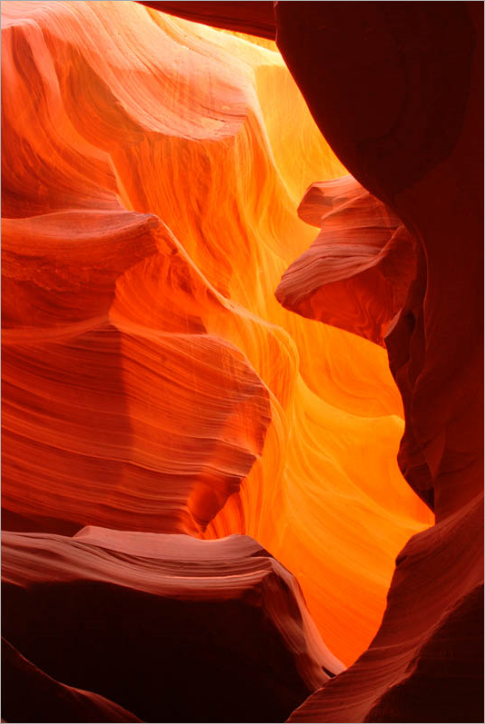 Природная абстракция каньонов