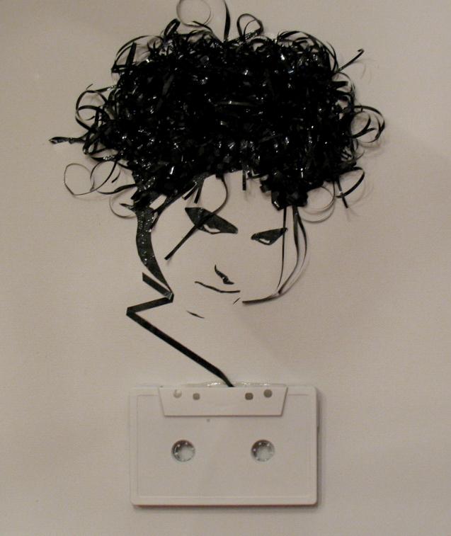 Картины из старых аудио-кассет