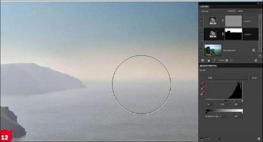 Как убрать туман на фото-пейзаже