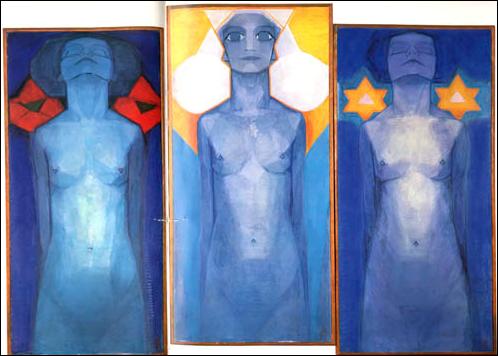 Нидерландский художник-абстракционист Пит Мондриан