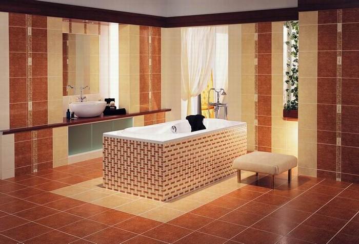 Керамическая плитка в интерьере вашего дома 1