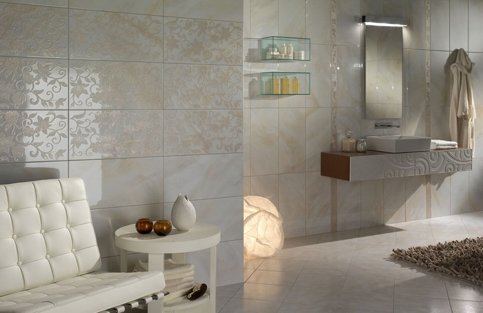 Керамическая плитка в интерьере вашего дома 7