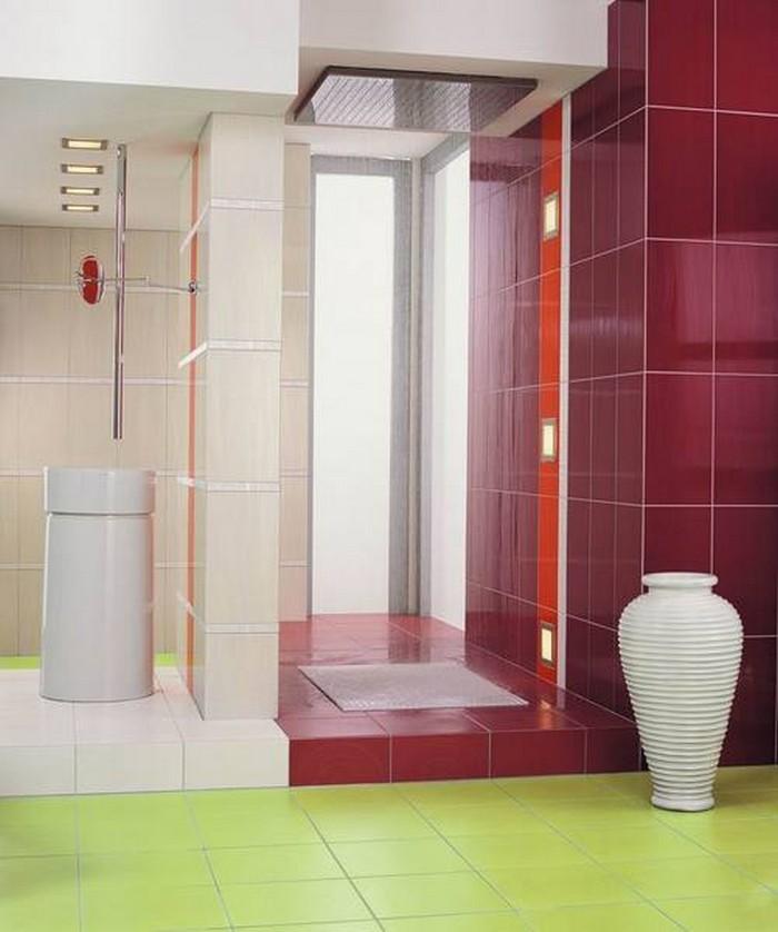 Керамическая плитка в интерьере вашего дома 14