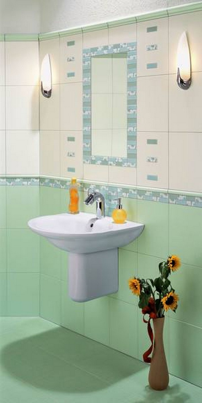Керамическая плитка в интерьере вашего дома 18