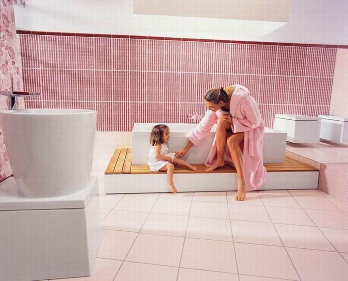 Керамическая плитка в интерьере вашего дома 24