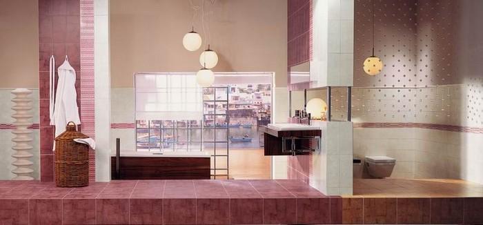 Керамическая плитка в интерьере вашего дома 27