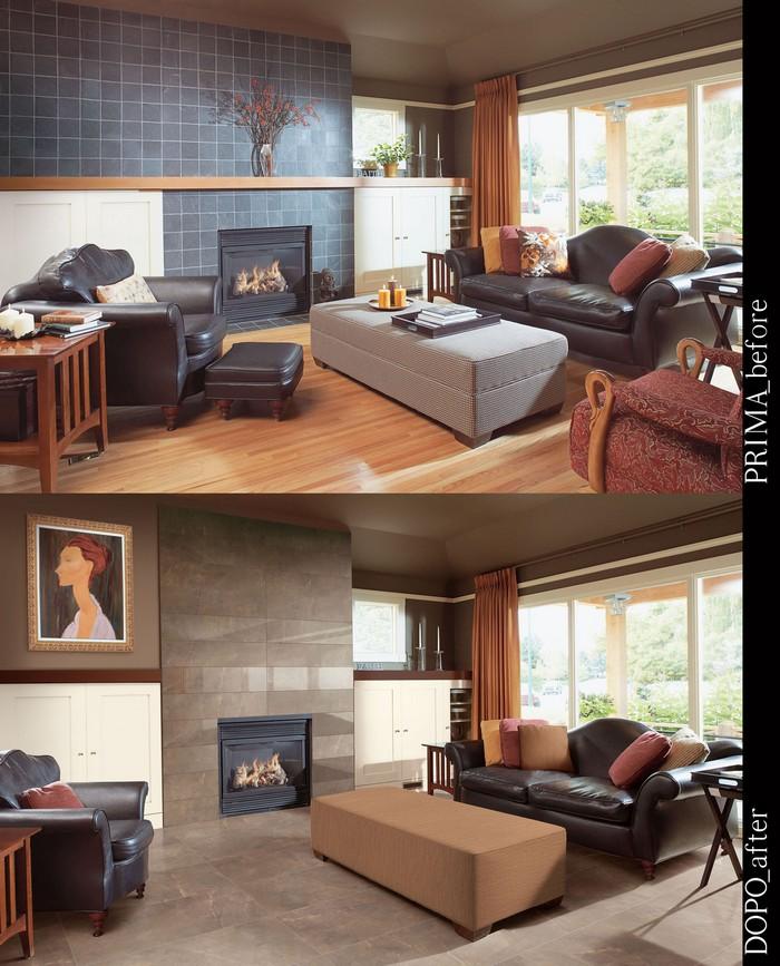 Керамическая плитка в интерьере вашего дома 31