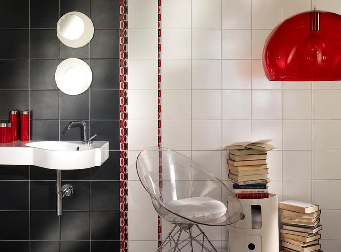 Керамическая плитка в интерьере вашего дома 38