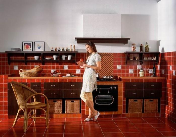 Керамическая плитка в интерьере вашего дома 41