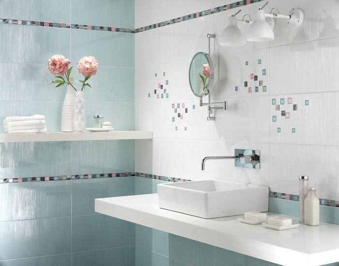 Керамическая плитка в интерьере вашего дома 44