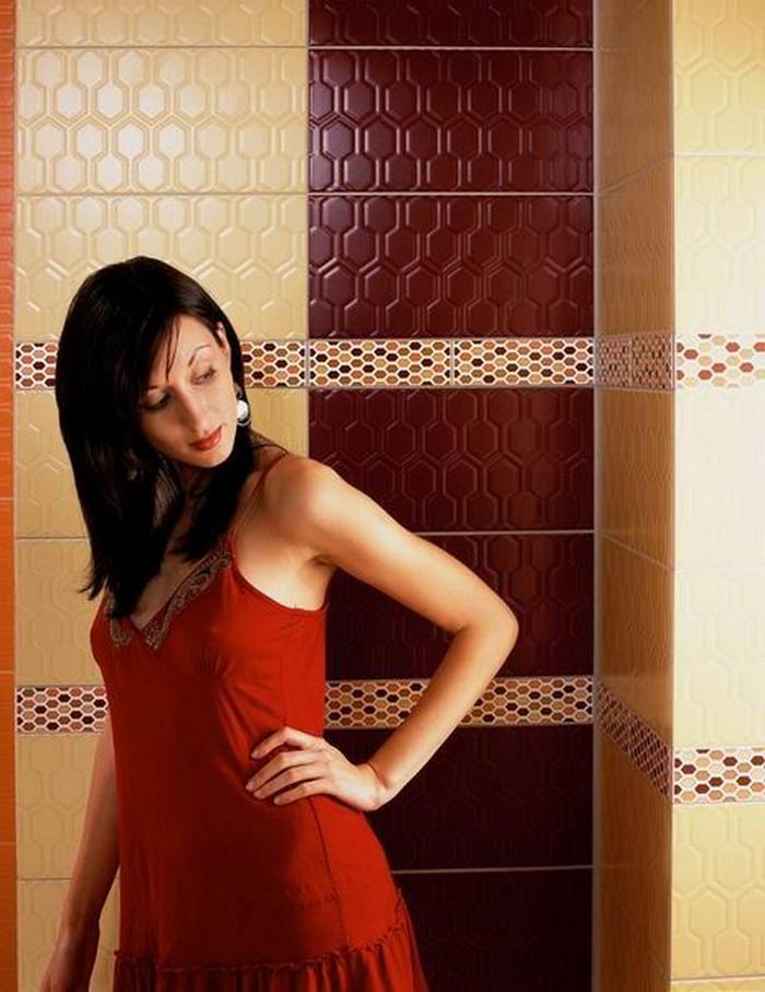 Керамическая плитка в интерьере вашего дома 47