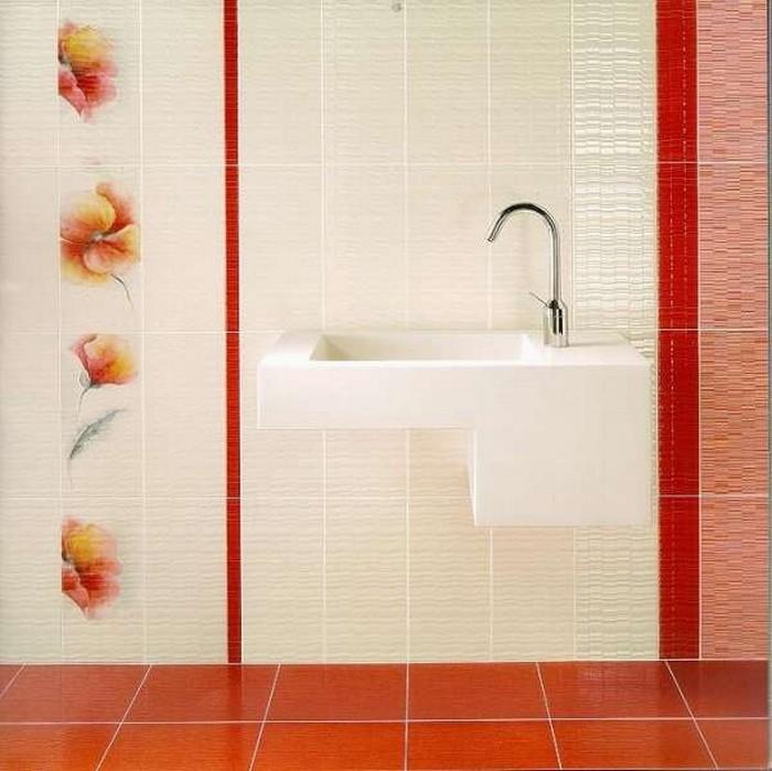 Керамическая плитка в интерьере вашего дома 48