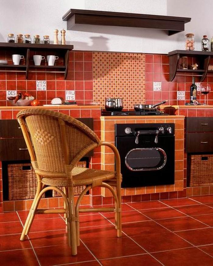 Керамическая плитка в интерьере вашего дома 51
