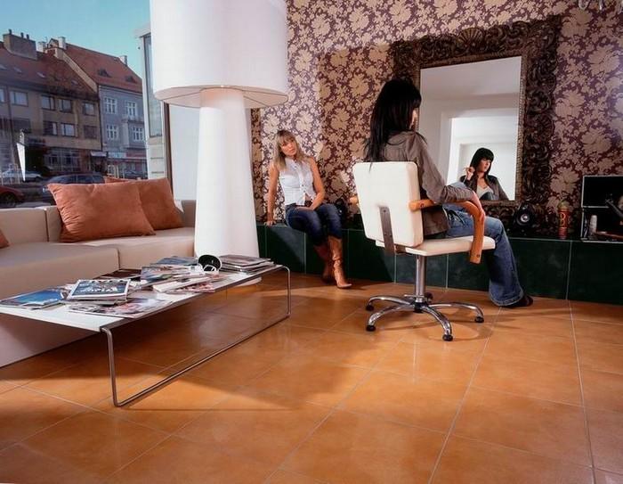 Керамическая плитка в интерьере вашего дома 57