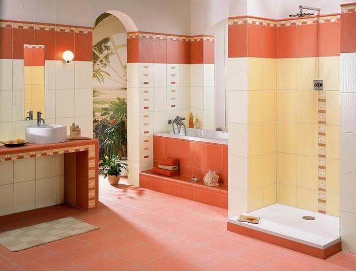 Керамическая плитка в интерьере вашего дома 58