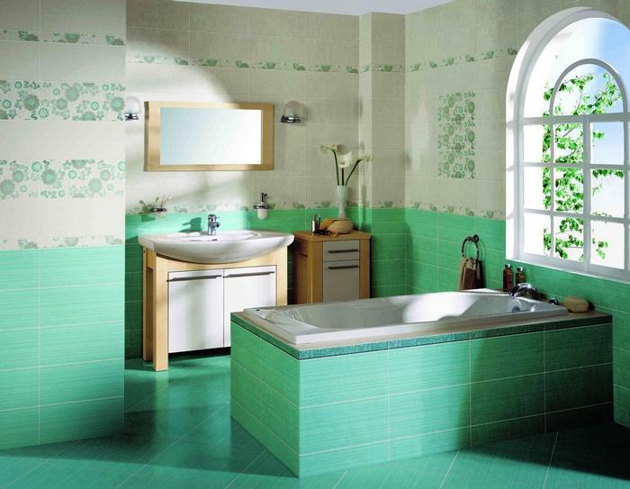 Керамическая плитка в интерьере вашего дома 65