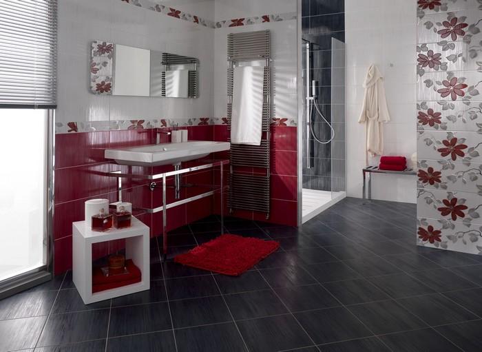 Керамическая плитка в интерьере вашего дома 66