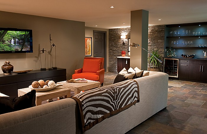Керамическая плитка в интерьере вашего дома 67