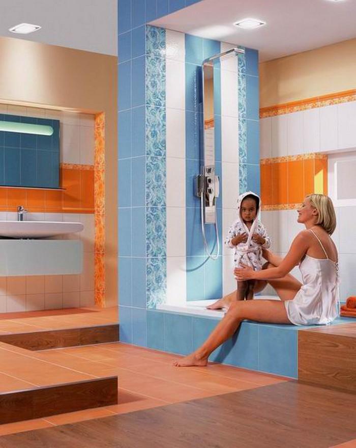 Керамическая плитка в интерьере вашего дома 68