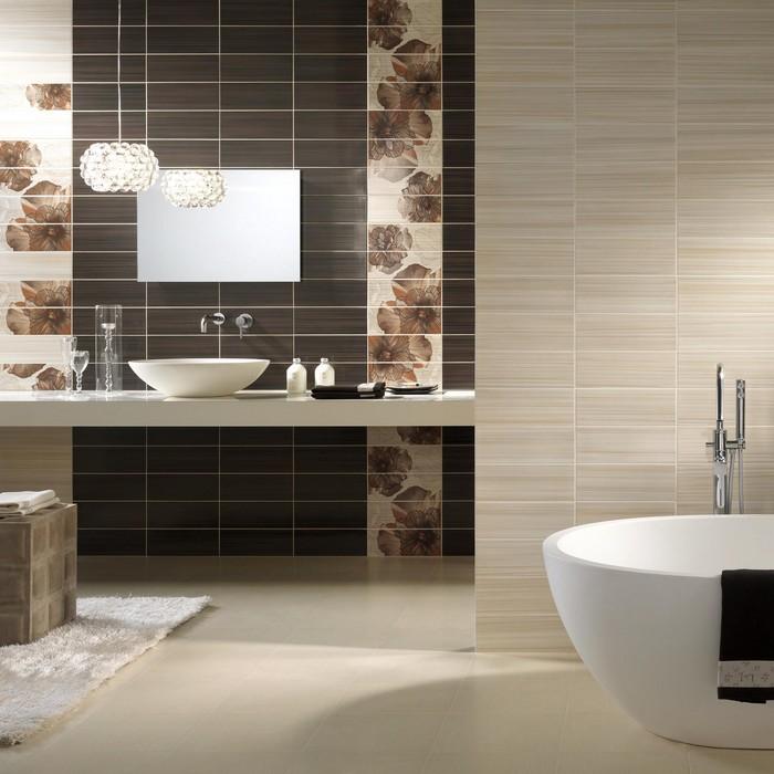 Керамическая плитка в интерьере вашего дома 70