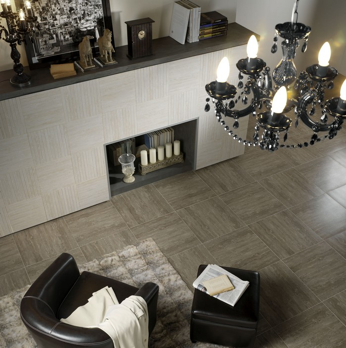 Керамическая плитка в интерьере вашего дома 71